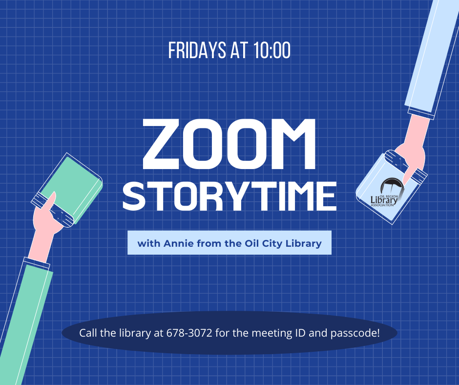 Zoom Storytime with Annie