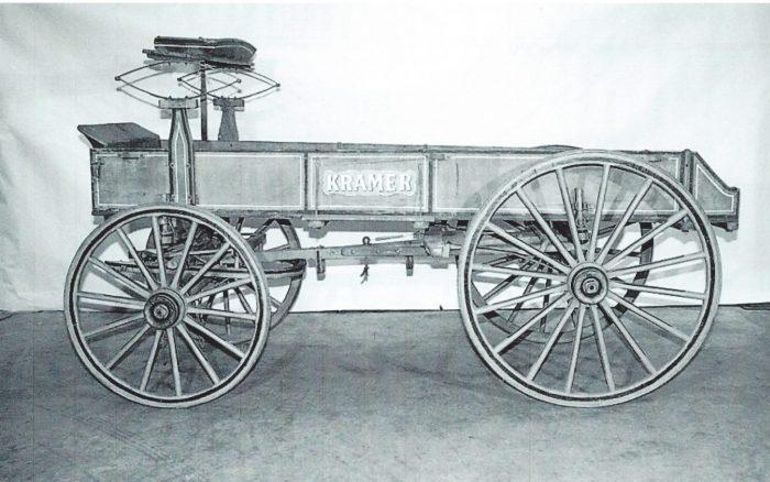 Kramer Wagon,Smithsonian Inst.